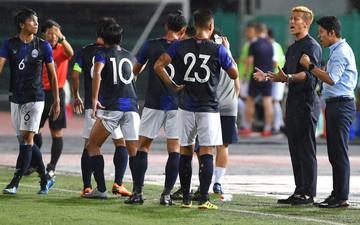 Đối thủ của Việt Nam tại AFF Cup 2018 gieo sầu cho Keisuke Honda trong ngày ra mắt Campuchia