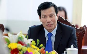 Bộ trưởng Nguyễn Ngọc Thiện khen ngợi tinh thần thi đấu của đội tuyển