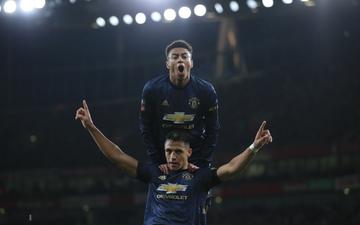Đả bại Arsenal ngay tại Emirates, Man Utd đường đường chính chính bước vào vòng 1/8 cúp FA