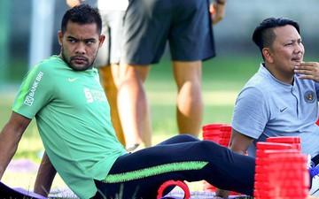 Cầu thủ của Indonesia tỏ rõ sự mệt mỏi, tinh thần rệu rã trước màn đối đầu với tuyển Việt Nam