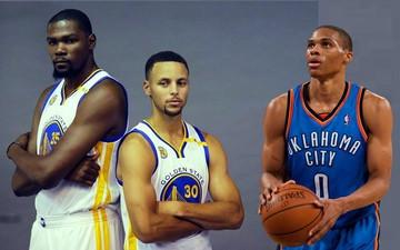 Kevin Durant chỉ ra người xuất sắc hơn giữa Stephen Curry và Russell Westbrook