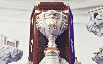 Lộ diện combo hộp đựng và cúp vô địch CKTG 2019 đúng chuẩn sang-xịn-mịn