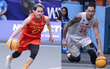 Tuyển bóng rổ 3x3 Việt Nam ra mắt thành công trong ngày Bộ trưởng Bộ Văn hóa - Thể thao và Du lịch, Nguyễn Ngọc Thiện đến cổ vũ