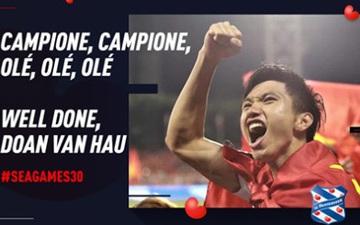 """Đội bóng Hà Lan gửi điện mừng Văn Hậu, nhận lại """"mưa thả tim"""" và hàng ngàn lời cảm ơn của CĐV Việt Nam"""