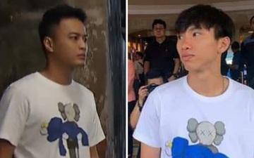 """Dân mạng soi ra Văn Hậu mặc áo đôi với Bảo """"tuần lộc"""" của """"Hoa hồng trên ngực trái"""": Ai mặc đẹp hơn?"""