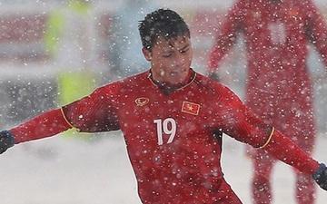 """Siêu phẩm """"cầu vồng trong tuyết"""" của Quang Hải bị bỏ xa ở cuộc bầu chọn """"bàn thắng biểu tượng"""" VCK U23 châu Á"""
