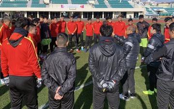 U23 Việt Nam có trận hòa đầu tiên trong chuyến tập huấn tại Hàn Quốc