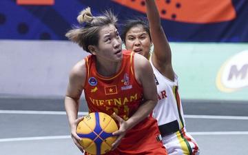 Bóng rổ SEA Games 30: Người hâm mộ tiếp tục đón nhận tin vui, đội tuyển nữ lọt vào bán kết sau trận đấu một chiều trước Myanmar