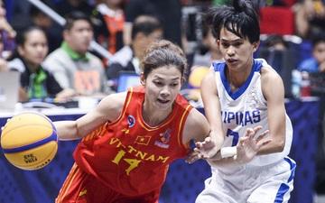 Nỗ lực hết mình nhưng vẫn không thể tạo nên bất ngờ trước Philippines, bóng rổ nữ Việt Nam vẫn còn cơ hội tranh huy chương đồng tại SEA Games 30