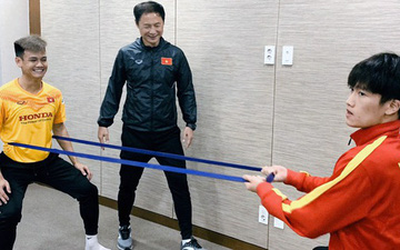 Quang Hải đã hồi phục chấn thương, tập luyện bình thường cùng U23 Việt Nam tại Hàn Quốc
