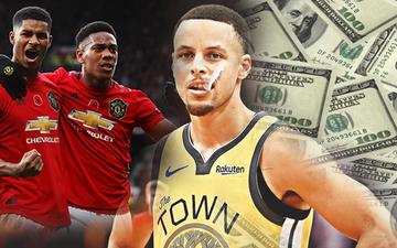 Giá trị thương hiệu tăng chóng mặt trong 10 năm qua, Golden State Warriors sắp vượt mặt cả Man United về độ giàu có
