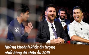 10 khoảnh khắc bóng đá châu Âu đẹp nhất năm 2019: Ronaldo mời Messi ăn tối, Son Heung-min chắp tay xin lỗi CĐV
