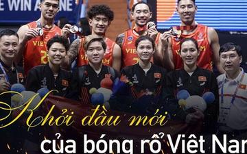 Bóng rổ Việt Nam: Sự khởi đầu cho hành trình mới đầy hy vọng sau tấm huy chương lịch sử tại SEA Games 30