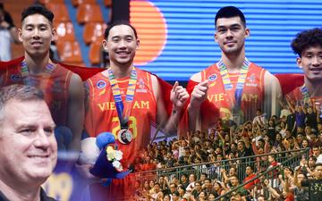 HLV đội tuyển bóng rổ Việt Nam muốn dành tặng tấm huy chương lịch sử cho toàn bộ người hâm mộ quê nhà