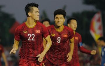 Tỷ số hòa 2-2 giúp Việt Nam giành thêm nhiều lợi thế trước trận bán kết SEA Games 2019