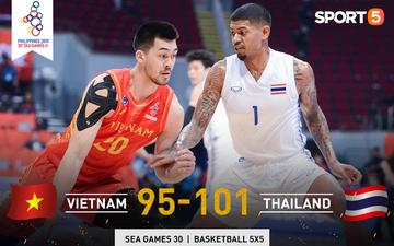 Trần Đăng Khoa bị truất quyền thi đấu, đội tuyển bóng rổ Việt Nam nhận thất bại đáng tiếc trong trận bán kết trước đối thủ truyền kiếp Thái Lan