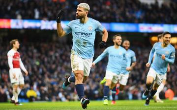 Man City 3-1 Arsenal: Aguero lập hat-trick, Pháo thủ tụt lại phía sau MU