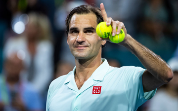 Hạ gục đối thủ chênh lệch tuổi tác lớn nhất sự nghiệp, Federer lần thứ 5 vào chung kết Miami Open