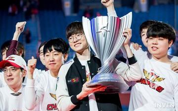 Đánh bại Griffin 3 trắng, SKT T1 chính thức vô địch LCK xuân 2019, giành quyền sang Việt Nam dự MSI