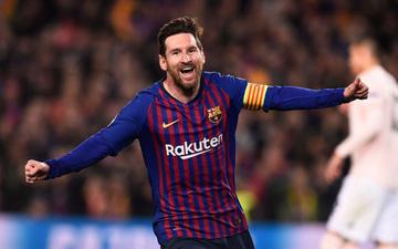 """Messi thừa nhận """"thần may mắn"""" giúp anh ghi 2 bàn vào lưới MU"""