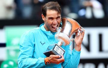 Trả nợ thành công Djokovic, Nadal vô địch Rome Masters và đạt cột mốc kỷ lục mới