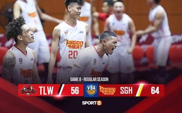 Lội ngược xuất sắc, Saigon Heat một lần nữa dành chiến thắng trước Thang Long Warriors
