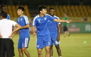 Cầu thủ Hà Nội FC tự tin, thoải mái trước trận bán kết lượt đi AFC Cup