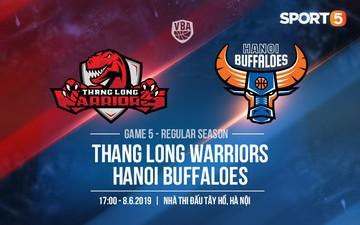 """Thang Long Warriors vs Hanoi Buffaloes (8/6): Tây Hồ rực lửa chờ đón """"Trâu Thủ đô"""""""