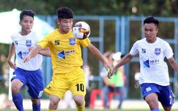 Đàn em thủ môn Bùi Tiến Dũng vô địch giải U17 Quốc gia 2019