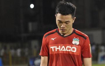Văn Toàn thất thần sau trận thua đau trước Than Quảng Ninh