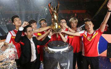 Không chỉ là chức vô địch thế giới đầu tiên của Việt Nam, AWC 2019 còn là giải đấu duy nhất làm được điều này