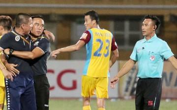 HLV Hà Nội FC lên tiếng xin lỗi vì hành động không đẹp với trọng tài