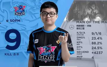 LNG Esports tìm lại niềm vui chiến thắng, thần đồng SofM ẵm luôn 2 danh hiệu MVP