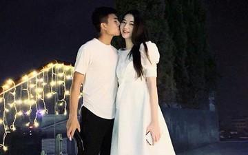 Chia tay rồi tái hợp, sao U23 Việt Nam và bạn gái Hoa khôi Kinh Bắc chứng minh: Còn yêu đâu ai rời đi