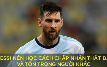 Sau cáo buộc LĐBĐ Nam Mỹ tham nhũng, Messi bị hàng loạt ngôi sao Brazil công kích