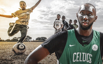 Tacko Fall chơi bóng đá để… nâng cao khả năng bóng rổ