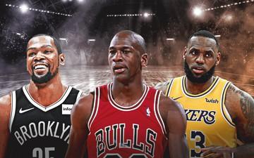 Những ông vua bán giày của NBA: Michael Jordan độc tôn, LeBron James cũng góp mặt