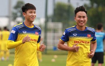 Chỉ bằng một hành động nhỏ, bộ đôi tuyển thủ U22 Việt Nam cũng đã chứng minh sự chuyên nghiệp và thái độ nghiêm túc trong tập luyện