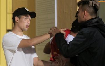 Đình Trọng rời PVF về Hàng Đẫy xem Hà Nội FC đánh bại Bình Dương