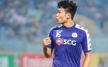 Biểu cảm khó đỡ của trung vệ Hà Nội FC trong ngày giành ngôi vô địch AFC Cup khu vực Đông Nam Á
