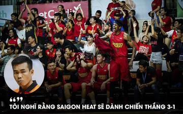 HLV Phan Thanh Cảnh đặt niềm tin vào Saigon Heat ở VBA Finals 2019