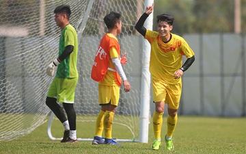 U23 Việt Nam chuẩn bị trận gặp Jordan: Thanh Sơn lập siêu phẩm, Trọng Hùng xé lưới Văn Toản