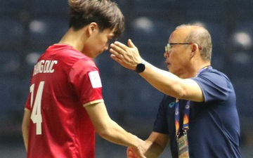 HLV Park Hang-seo động viên từng học trò sau trận hòa  U23 Jordan