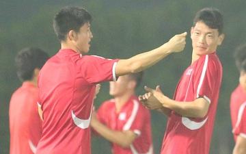 U23 CHDCND Triều Tiên tự tát vào mặt nhau trước trận gặp U23 Việt Nam