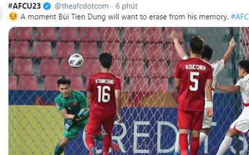 """AFC giật tweet nói về sai lầm của Bùi Tiến Dũng: """"Đây là một ký ức mà anh ấy muốn xóa bỏ mãi mãi"""""""