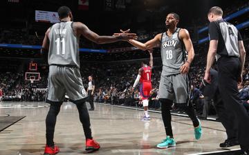 Tri ân cố huyền thoại Kobe trên sân nhà, Brooklyn Nets giành chiến thắng dễ dàng trước Detroit Pistons