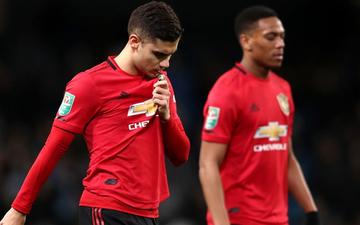Tạo kỳ tích đánh bại Man City trên sân khách nhưng MU vẫn bị loại tức tưởi khỏi Cúp Liên đoàn Anh