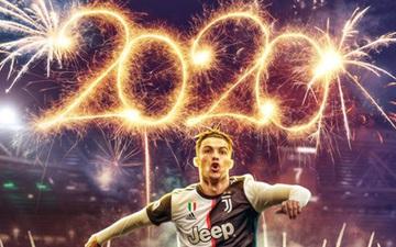 """Ronaldo chào năm mới và kiểu tóc """"ngành"""" bằng 3 bàn thắng, 1 kiến tạo ở giải VĐQG Ý"""