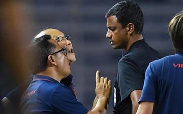 HLV Park Hang-seo bị cấm chỉ đạo 4 trận và nộp 5000 USD vì phản ứng trọng tài, tuyển Việt Nam vẫn gặp may