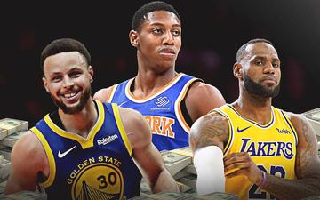 Giá trị thương hiệu tăng chóng mặt, Los Angeles Lakers và Golden State Warriors cán mốc 4 tỷ USD